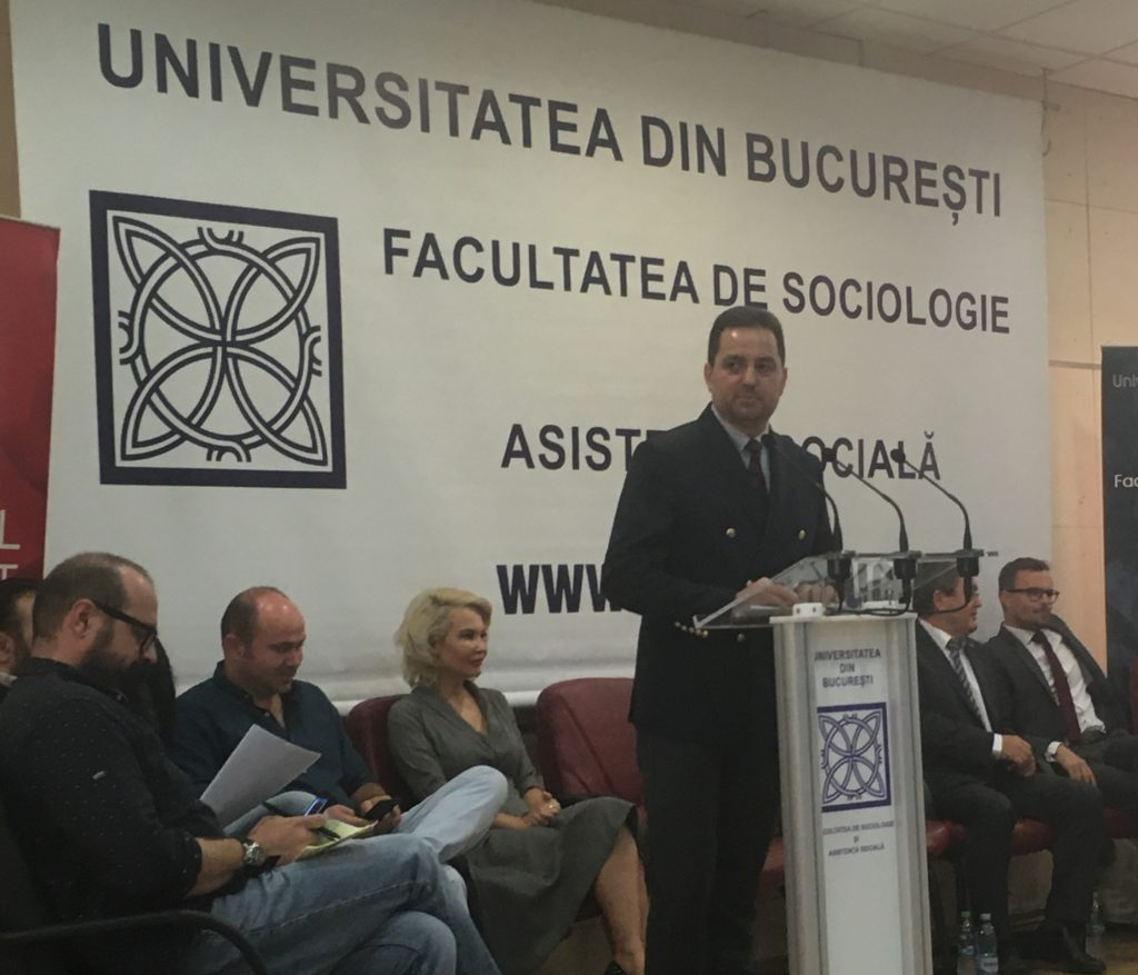 Dean of the Faculty of Sociology and Social Work, University of Bucharest, 2019